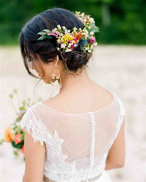 13 braided wedding hairstyles we martha stewart weddings