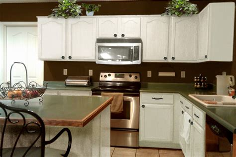 white and brown kitchen cabinets brown and white kitchens pthyd