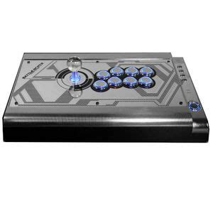 Lu Led Hori qanba q2 pro led arcade stick silver ps3 pc