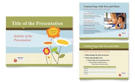 Preschool Day Care Presentation Templates Powerpoint Day Care Powerpoint Presentation Templates
