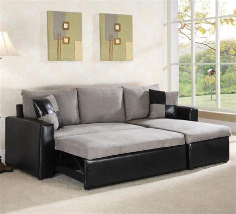 Sectional With Sleeper Sofa 64008 Sectional Sofa Sleeper By World Imports