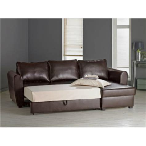 new siena fabric corner sofa bed with storage charcoal