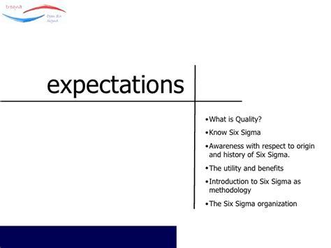 Two Sigma Mba Internship by Six Sigma Orientation