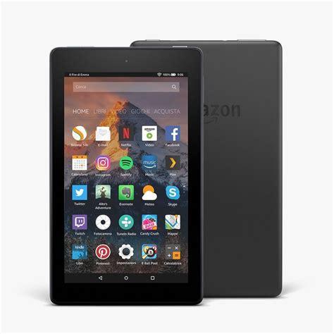 amazon fire 7 amazon lancia nuove versioni dei tablet fire 7 e fire hd 8