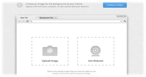 chrome themes upload how to create your own custom chrome themes using my