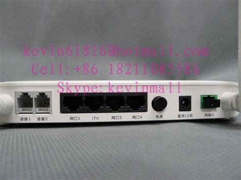 Modem Alcatel Lucent alcatel lucent bell optical network terminal ftth ont i