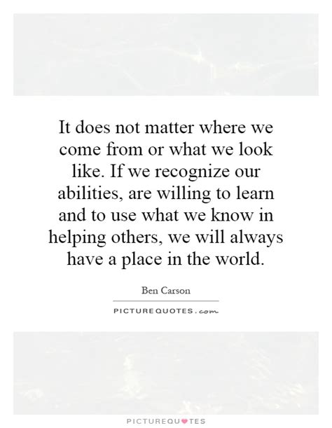 where does matter come from recognize quotes recognize sayings recognize picture