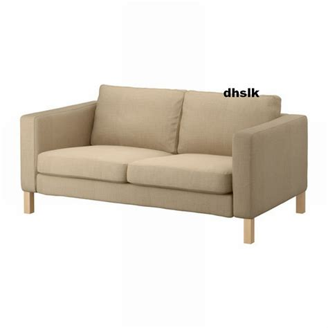 sofa and loveseat covers ikea karlstad 2 seat loveseat sofa slipcover cover lindo