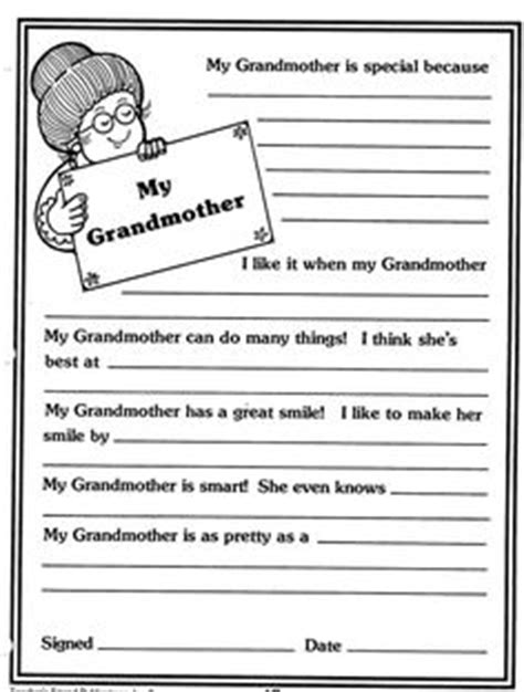 Grandparent Fundraising Letter 5 Grandparents Day Activities Grandparents Cards And School