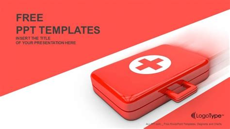 Aid Powerpoint Template First Aid Kit Powerpoint Templates