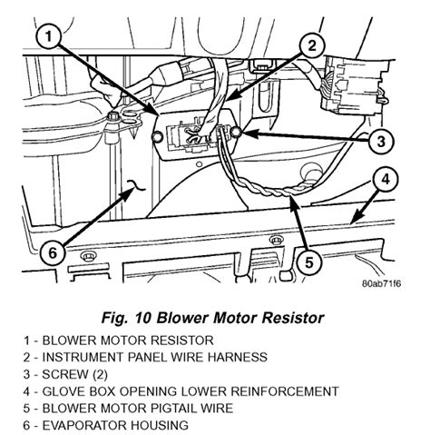 replace blower motor resistor 2003 dodge grand caravan my 2003 dodge grand caravan a c front blower only works low speed unless highest setting is