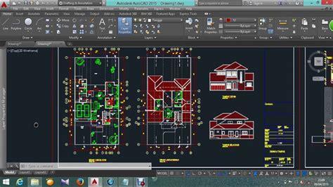 desain rumah minimalis format autocad desain rumah minimalis terbaru