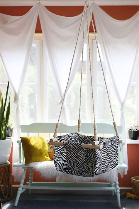 baby and toddler swing 12 creative diy hanging chairs projects