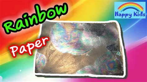 How To Make A Paper Rainbow - ทำกระดาษสายร ง rainbow paper น กว ทยาศาสตร น อย
