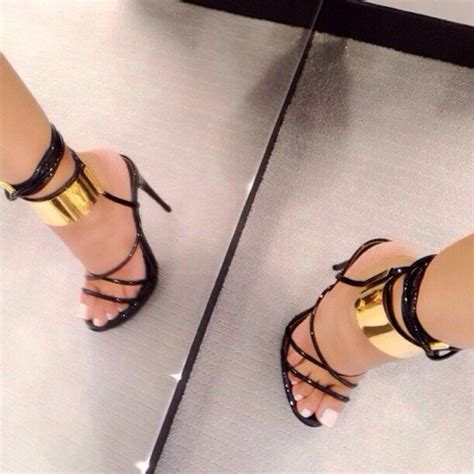 black gold shoes high heels black and gold high heels shoes gold high heel sandals