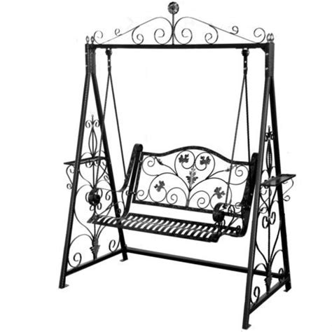 how to swing an iron swing chair designer hand crafted iron swing chair for