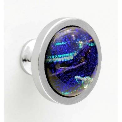 Blue Opal Special Edition The Fantastic Paradoxes Of Sandro Prete aanraku nickel plated knob pull glass studio supplies