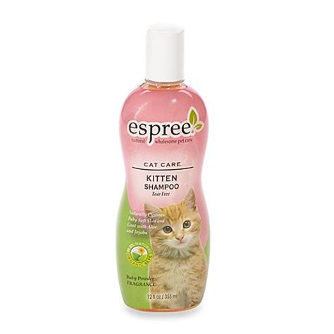 Bedak Kucing Espree Kitten Bath buy espree cat care gentle shoo from bed bath beyond