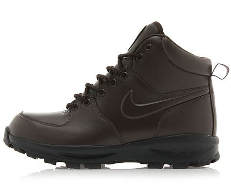 nike acg manoa boots nike manoa s boots leather acg 454350 222 brown boots