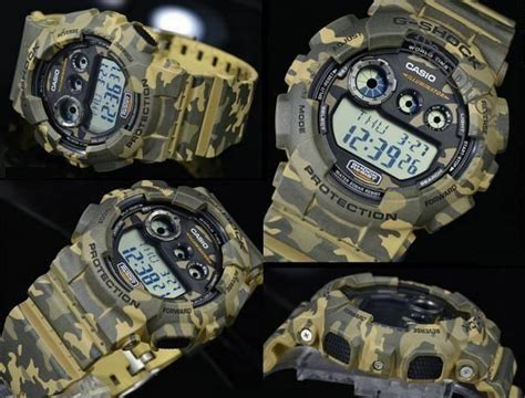 Casio Gshock Gd 120cm 4 Read Army casio g shock camo limited e end 6 4 2017 9 15 am