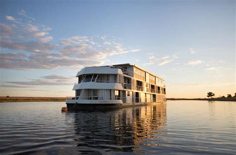 houseboat zambezi queen zambezi queen houseboat chobe river botswana safaris