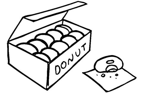Coffee And Donuts Coloring Page Coloring Pages Donuts Coloring Pages
