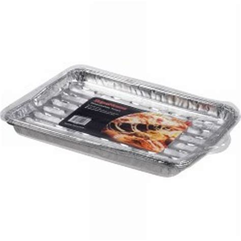 Aluminium Foil Tray Oven 5cm X 8cm X 4cmwadah Alumunium Foil 24 large disposable cooking trays