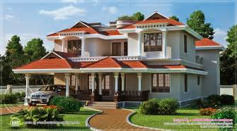 beautiful home designs photos beautiful home exterior in 2446 square feet kerala home