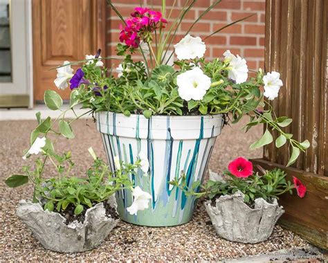 Cloth Planters by Drop Cloth And Cement Planters