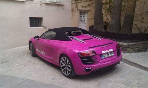 pink audi pink audi r8 breast cancer awareness month