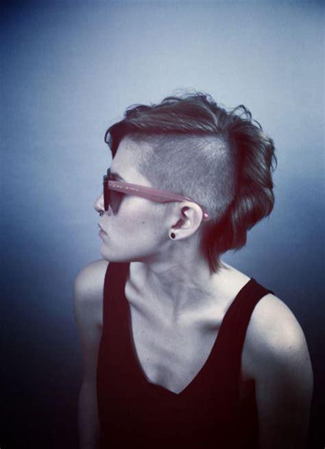 coupe de cheveux femme half hawk le half hawk une coupe grunge ces 10 photos sublimes vont vous prouver le contraire coupe