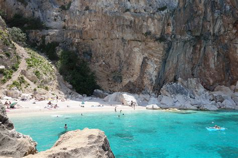 Orange And Blue Combination by Turquoise Beaches Of Cala Gonone Sardinia Beach Lover S