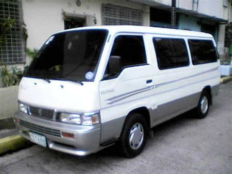 nissan urvan escapade white nissan urvan escapade used cars in manila mitula cars