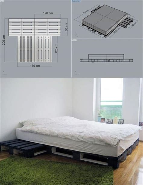 pallet bed ideas 15 unique diy wooden pallet bed ideas diy and crafts