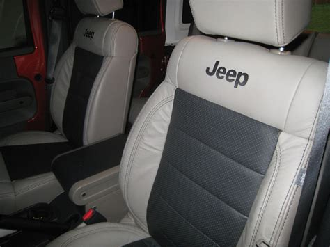 Jeep Leather Seats Leather Seats In A Jeep Page 2