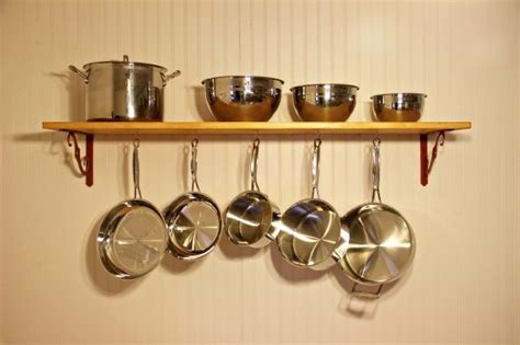Shelf For Pots And Pans by The Kitchen Shelf