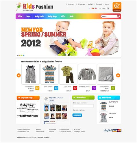 os commerce templates os23130008 premium fashion store oscommerce template