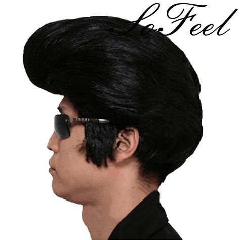 elvis presley hair style on black women compare prices on men hairstyle online shopping buy low