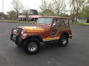 sell used 1981 jeep cj5 renegade all original 49k original