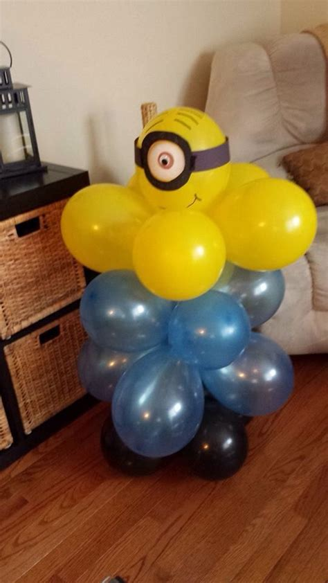 Minion balloon decoration m 237 nions pinterest