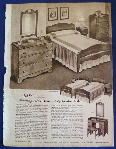 sears furniture ad mid century modern pinterest