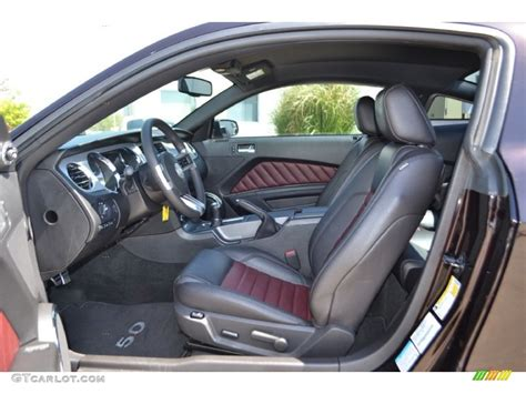 2012 Ford Mustang Interior by 2012 Ford Mustang Gt Premium Coupe Interior Photo