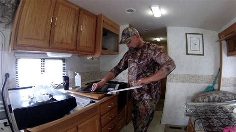 cer trailer kitchen ideas nomadic an easy to install rv kitchen backsplash