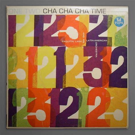 One Two Cha Cha Cha one two cha cha cha time cover typophonic