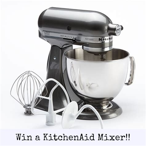 Kitchenaid Mixer Giveaway - win a 5 quart kitchenaid mixer giveaway what jew wanna eat