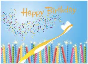 magic toothbrush birthday card dental birthday cards