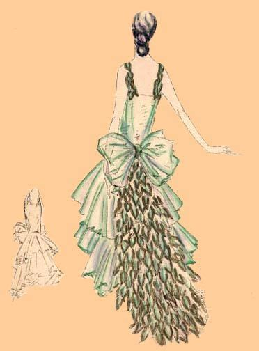 vintage pattern making e30 4101 leaf frock circa 1930 this is another pattern i