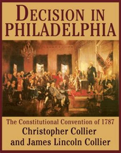 constitutional problems lincoln books decision in philadelphia the constitutional convention of