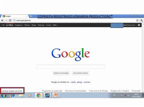 google imagenes buscar foto como poner una imagen de fondo de pantalla en google
