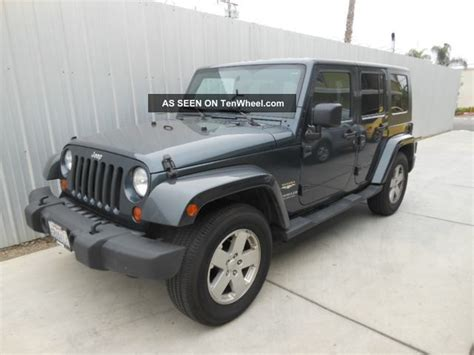 2007 Jeep Wrangler Unlimited Owners Manual Mixeinto